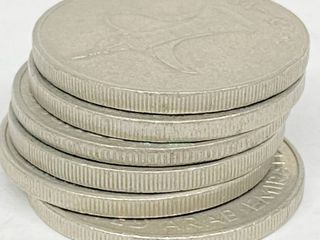 lot of 6 Coins