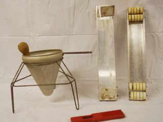 Vintage Tomatoes Juicer and Misc  Items
