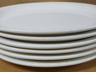 lot of 6 Oval Plates  11  x 9