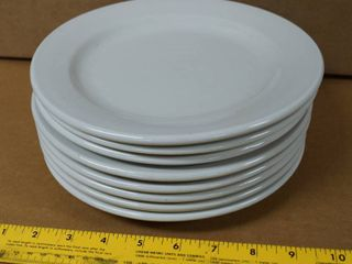 lot of 8 Round Plates  9  Wide