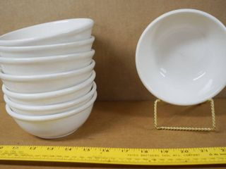 lot of 8 Bowls  approx  6  Wide  and 2  Deep