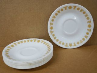 lot of 8 Saucers