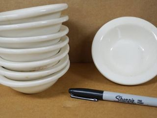 lot of 8 Bowls  approx  4 1 2  Wide