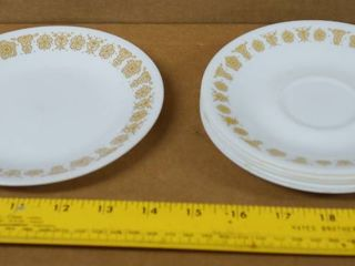 lot of 6 Saucers