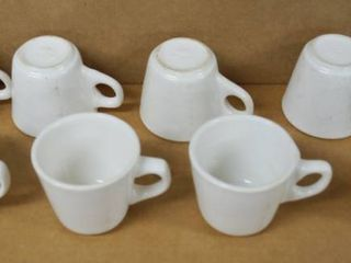 lot of 8 Coffee Cups