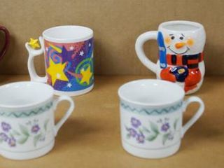 lot of 8 Cool  Coffee Cups