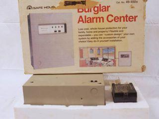 Burglar Alarm Center  No  49 450B w  Original Box