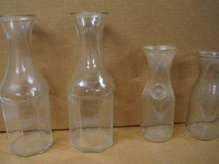 lot of 4 Vases