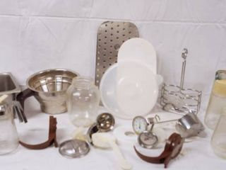 lot of Kitchen Misc  Items  See Photos