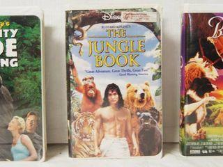 VHS Movies  Might Joe Young  Jungle Book  Babe