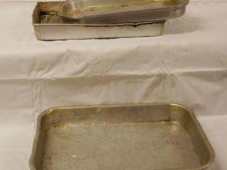 lot of 3 Baking Pans