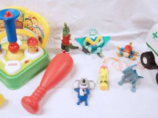 lot of Toys  Fisher Price Baseball Toy  Figurines    More  See Photos