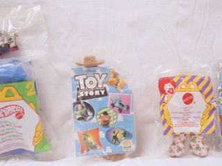lot of Collectible  McDonald s Happy Meal Toys  in Original Packing