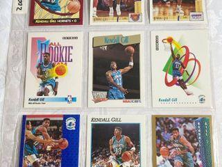 Fleer and Skybox 1991   1992 NBA Basketball Cards   Kendall Gill