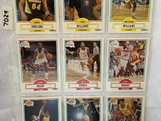 Vintage Basketball Cards   Pacers   lakers   Clippers