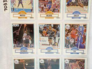Vintage Basketball Cards   Scott   Bol   Gilliam   Wilkins