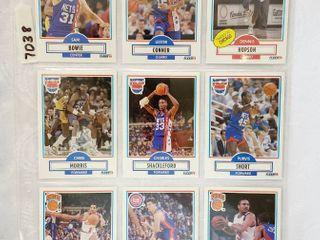 Vintage Basketball Cards   Pistons   NY Knicks   Nets