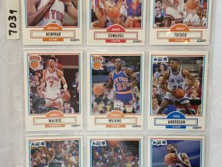 Vintage Basketball Cards   Pistons   NY Knicks   Magic