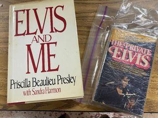 Elvis Presley  Elvis and Me Priscilla Beaulieu Presley w  Sandra Harmon  Book  and  The Private Elvis  Book