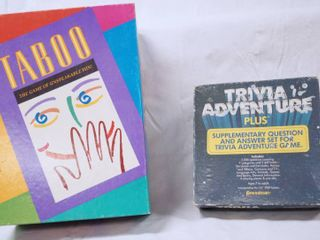 Taboo Game and Trivia Adventure Plus Game