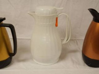 lot of Thermo Coffee Pot