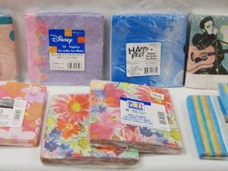10 Party Pack of Themed Napkins   All Occasions   In Unopened Original Packaging  See Photos