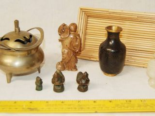 Far East Inspired Figurines and Collectibles   Brass and More