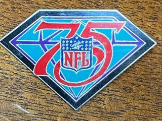 Hard to Find   1994 NFl 75   Hat Pin