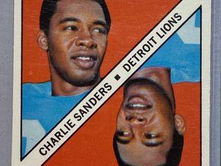 Vintage 1971 Topps   1 Yard Gain   Charlie Sanders   Detroit lions