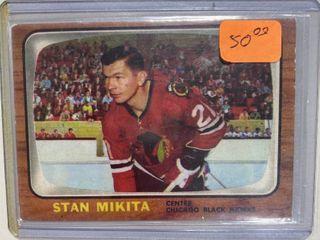 1966 Topps Test Hockey 62 Stan Mikita HOF   Chicago Black Hawks center