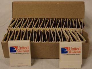 lot of United Beechcraft Match Books