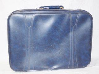 Nice Blue Suit Case