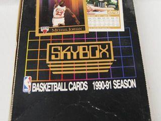 Collection of Basketball Cards 1990 91 Season  See Photos