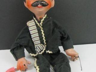 Vintage outlaw Marionette doll