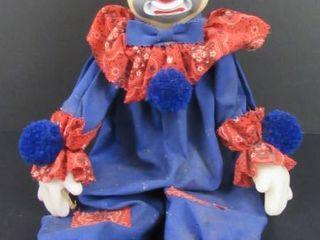 Hobo clown Marionette doll