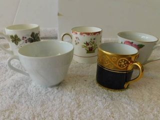 Miniature Teacup lot  2  5 ea