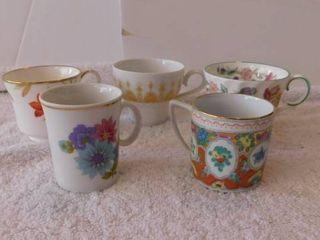 Miniature Teacup lot  3  5 ea
