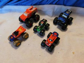 Big Wheel Style Trucks  5 ea