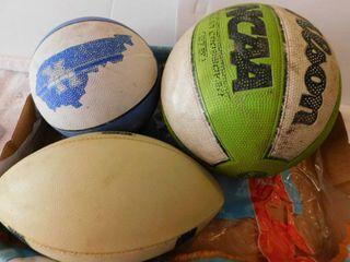 Sports Balls lot
