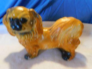 Pekinese Dog Figurine