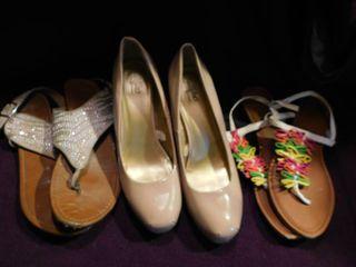 Women s Shoes  3 pair  Size 9