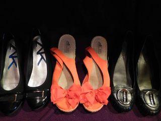Women s Shoes  3 pair  Sz 7 5 lot 5