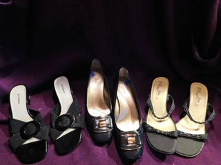 Women s Shoes  3 pair  Size 7 5