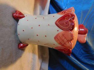 Valentine s Heart Cookie Jar
