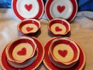 Valentine Plates   Bowls