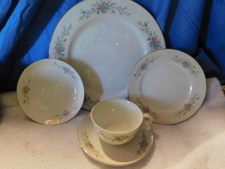 Florentine China   Service for 12