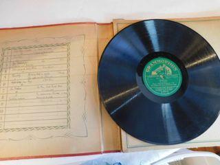 Vintage Gramophone Records  2 ea