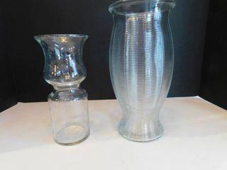 Vases  2 ea