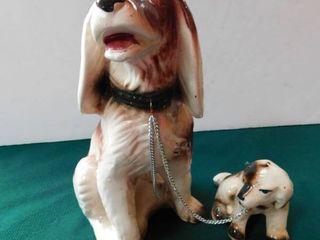 Ceramic Dogs  Pair