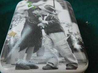 Ceramic Musical Trinket Box